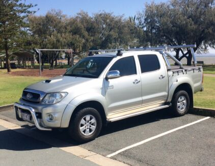 2009 TOYOTA HILUX SR5 4X4 DUAL CAB Redcliffe Redcliffe Area Preview