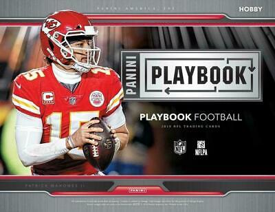NEW ORLEANS SAINTS 2019 PANINI PLAYBOOK  FOOTBALL 8 BOX  FULL CASE BREAK #1