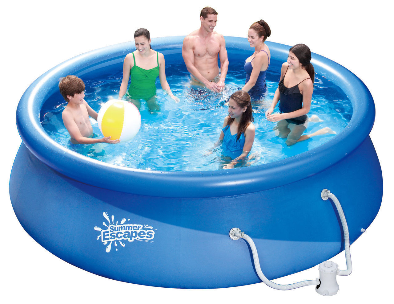 Top 10 above ground swimming pools ebay - Pro series frame pool ...