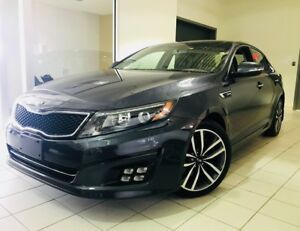 2015 Kia Optima SX TURBO CAMERA  / CUIR / GPS / TOIT PANO /