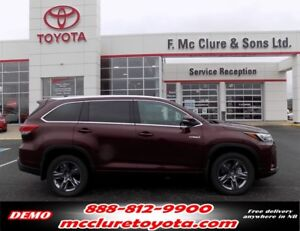 2018 Toyota Highlander Hybrid Limited LOTS OF ACCESSORIES