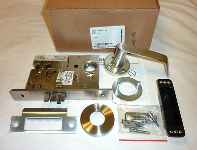 Falcon Ma161 Dg 630 Mortise Exit Connecting Lock Commercial Rh W Cyl Stainless