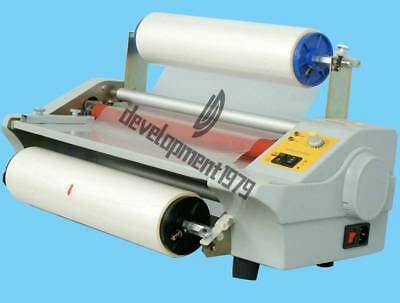 Photo Film Laminator Four Rollers Hot Roll Laminating Machine Fm360j New