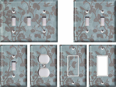 Shades of Blue - Light Switch Covers Home Decor (Sunglasses Outlet Canada)