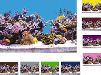 12,99€/m Aquarium Hintergrund selbstklebend Rückwand folie Foto Rückwand 100 cm