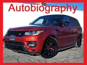 2014 LAND ROVER RANGE ROVER SPORT AUTOBIOGRAPHY+LOADED
