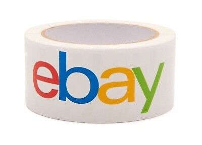 Ebay Brand Packing Tape 2x75 White With Logo Benefit Wounded Warrior Project