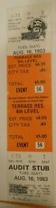 1983-RARE-Unused-Full-Pittsburgh-Pirates-vs-Mets-Ticket-Parker-vs-Strawberry