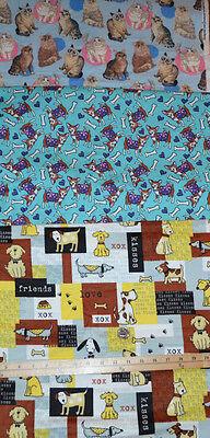 Joann Fabrics Great Chihuahua Dogs Print On Snuggle Flannel 32  X 41