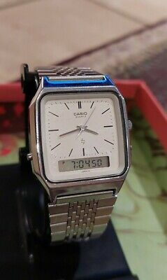 Vintage 1980's AQ-320 (Mod 305) Ani-Digi Watch. Digital Element working only.