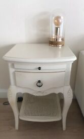 2 bed side table/cabinets