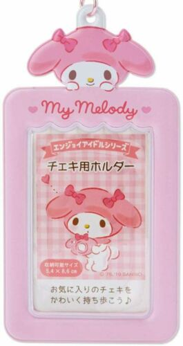 My Melody Photo Card Case Key Holder Sanrio Official Kawaii Cute Keychain Japan