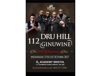 2x tickets - Dru Hill, Sisqo Ginuwine - Bristol