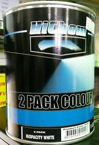 Hichem 2Pack Colour HiOpacity White 1L Belmore Canterbury Area Preview