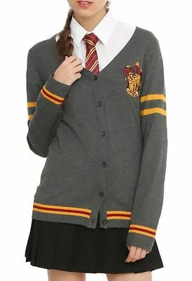 Harry Potter Gryffindor Cardigan Cosplay Size Halloween Large New With - Halloween Cardigan