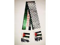 Palestine Flag Scarf