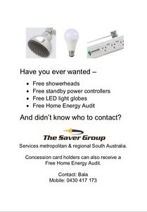 Free led bulbs, led flood lights and energy saving products St Marys Mitcham Area Preview