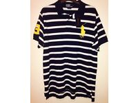 Genuine Ralph Lauren Polo T-Shirt labels still attached. Purchased for £110 but wrong size.