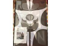 Orla Kiely Designer Bedding Duvet Set in Mushroom Wallflower Print (Super King)