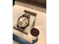 Rolex Datejust 16233 Diamond Dial, Box, Papers, Spare Links & Tag!
