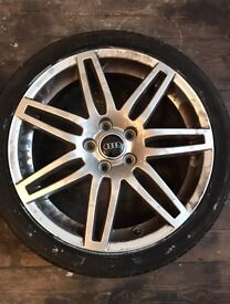 Audi A3/S3/RS3 Alloy Wheels And Tyres