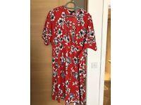 Maternity Wrap Dress size 16