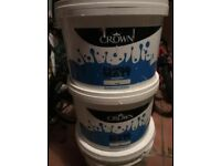 MAGNOLIA Crown paint approx 12 litres