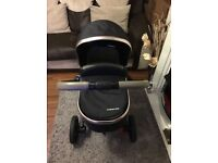 Mothercare Orb Pram, like new has hardly used due to being a driver