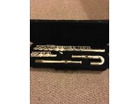 SMS ACADEMY FLUTE WITH REGULAR AND ROUNDED HEAD GREAT CONDITION