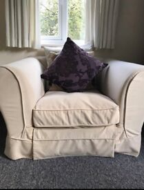 Cream Armchairs