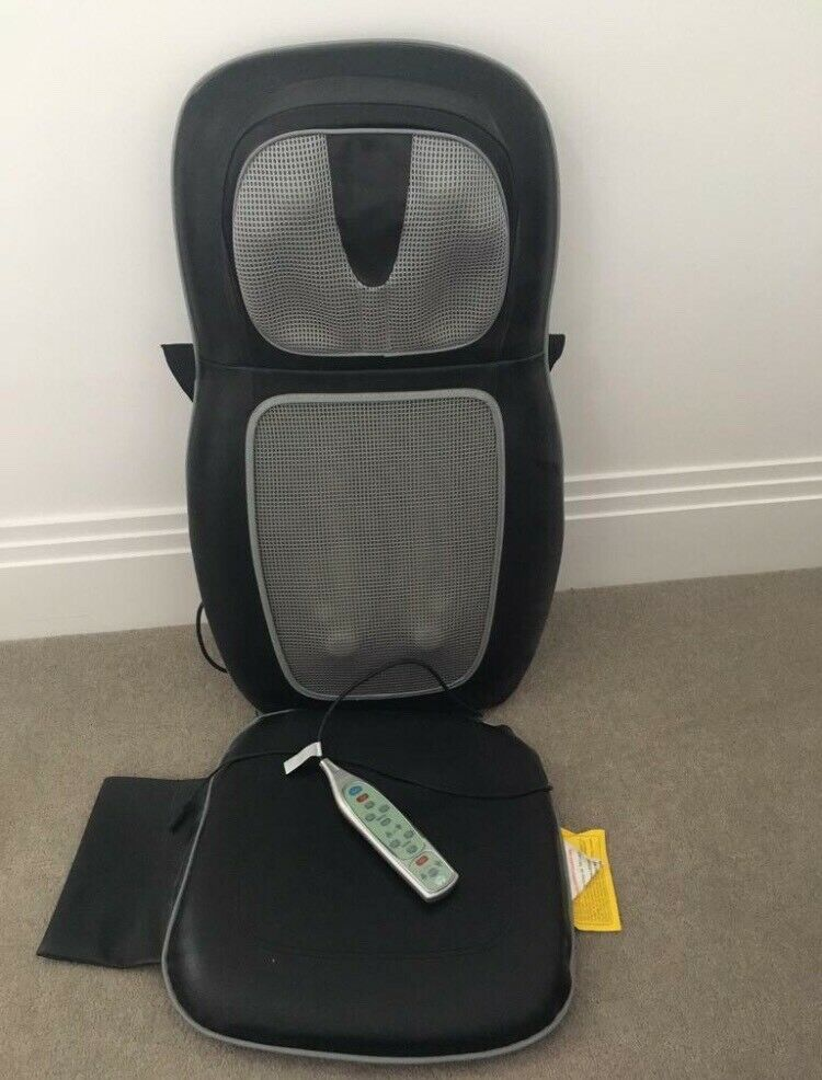 Homedics Sbm 500h Therapist Select Shiatsu One Massaging Cushion With Heat Back And Shoulders In North Finchley London Gumtree