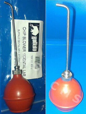 Buffalo Dental Lab Complete Phenol Syringe With Rubber Bulb Chip Blower Usa New