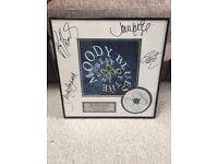 The Moody Blues 1997 limited edition memorabilia presentation disc
