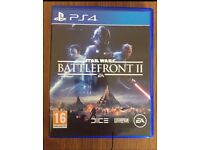 Star Wars battlefront 2 PS4 £25 ono
