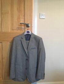 Boy Grey 3 Piece Suit