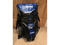 Yamaha Racing Backpack with helmet carrier