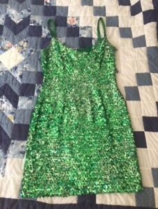 Vintage St Patty's day dress