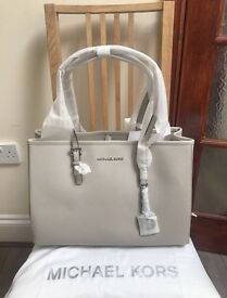 BRAND NEW MICHAEL KORS LEATHER TOTE BAG. RRP £260