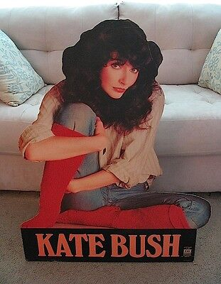 KATE BUSH 1978 RARE 3-Foot Standee Promo US The Kick Inside MUCH LOWER SHIPPING