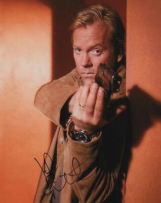 Jack Bauer Gun (Kiefer Sutherland 24 Jack Bauer SIGNED Gun Photo COA!)