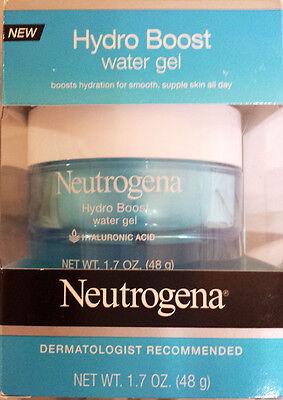 Neutrogena Hydro Boost Water Gel, NIB, 1.7 oz., BRAND NEW, w/Hyaluronic Acid