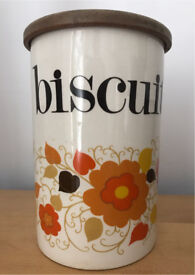 Vintage Mary Quant Biscuit Jar