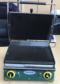 Silver Panini Contact Grill /Sandwich Toaster