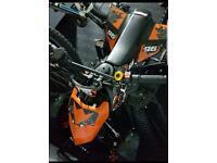 49cc mini quad black and orange