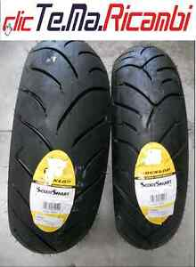 coppia pneumatici 110 70 16s 150 70 14s dunlop scootsmart beverly