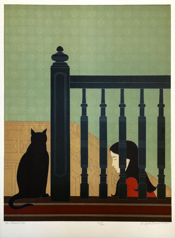 "Will Barnet ""the Bannister"" 1981 