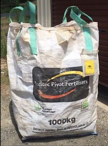 1 Cubic Metre Garden Rubbish Bags 10  for $50 Clear Mountain Pine Rivers Area Preview