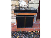 Pye Black Box with Two Speakers, Model No 1022