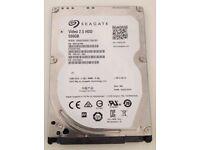 Seagate Video 2.5 HDD 500GB Laptop Hard Drive