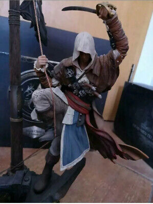 Assassin's Creed IV Black Flag | Edward Figur | Limited Black Chest Edition OVP